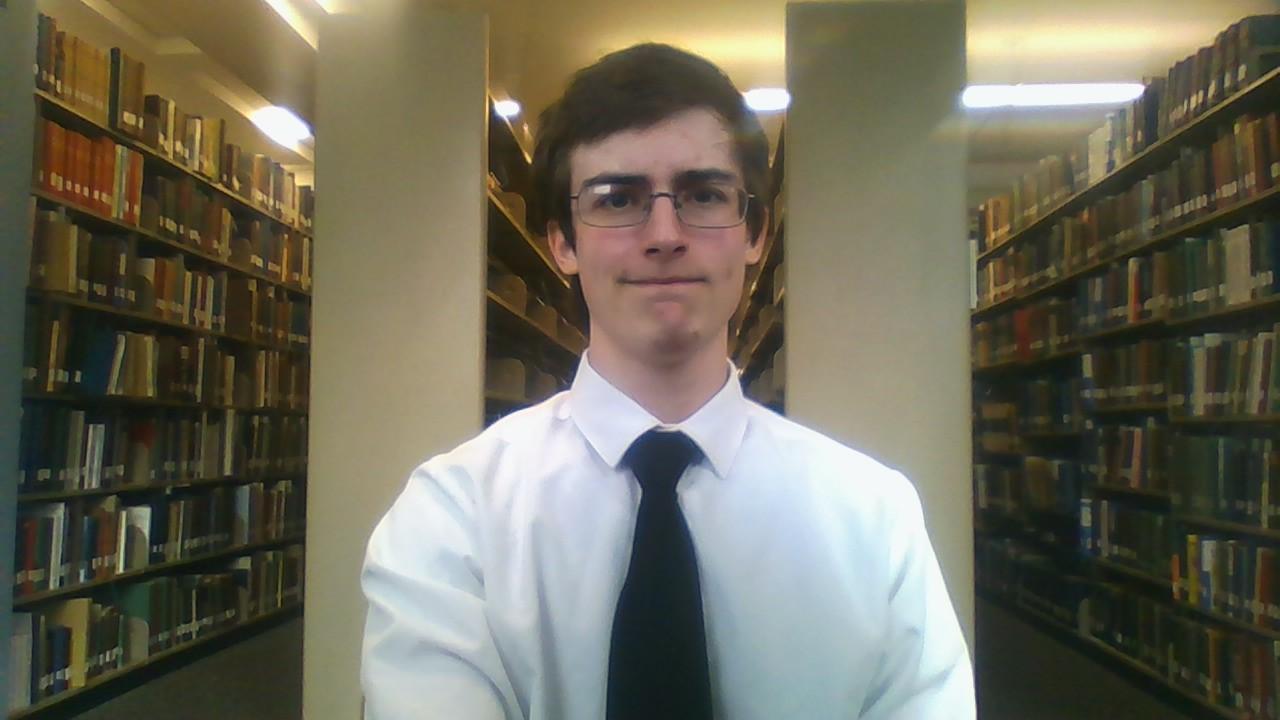 Brandon Grisham, Bagrisham, age 20, library, résumé