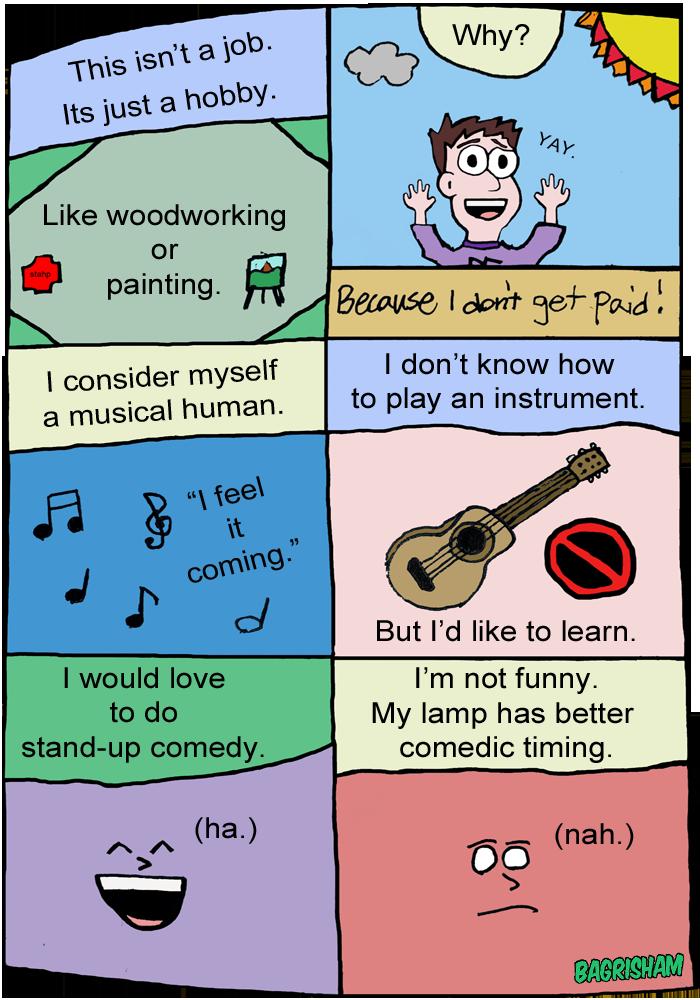 Webcomic Panels 23 Hobbies Bagrisham