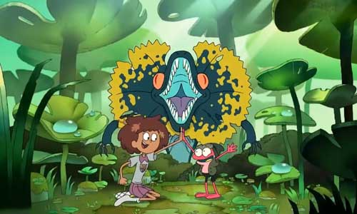 Amphibia Anne and Sprig