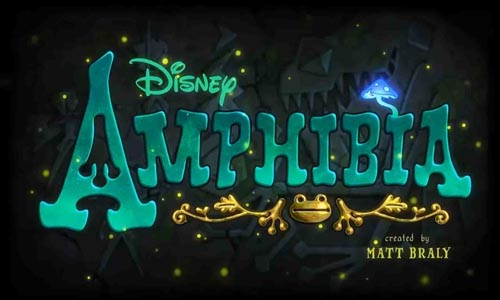 Amphibia, Title Card, Disney Channel, Disney, Title