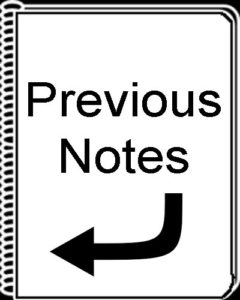 Previous Notes Button