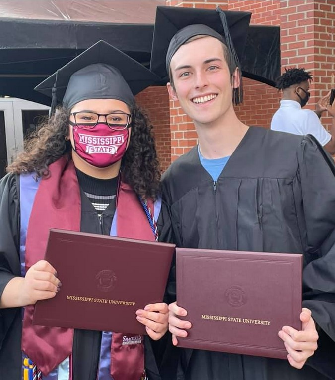 Graduation photo of Brandon Grisham