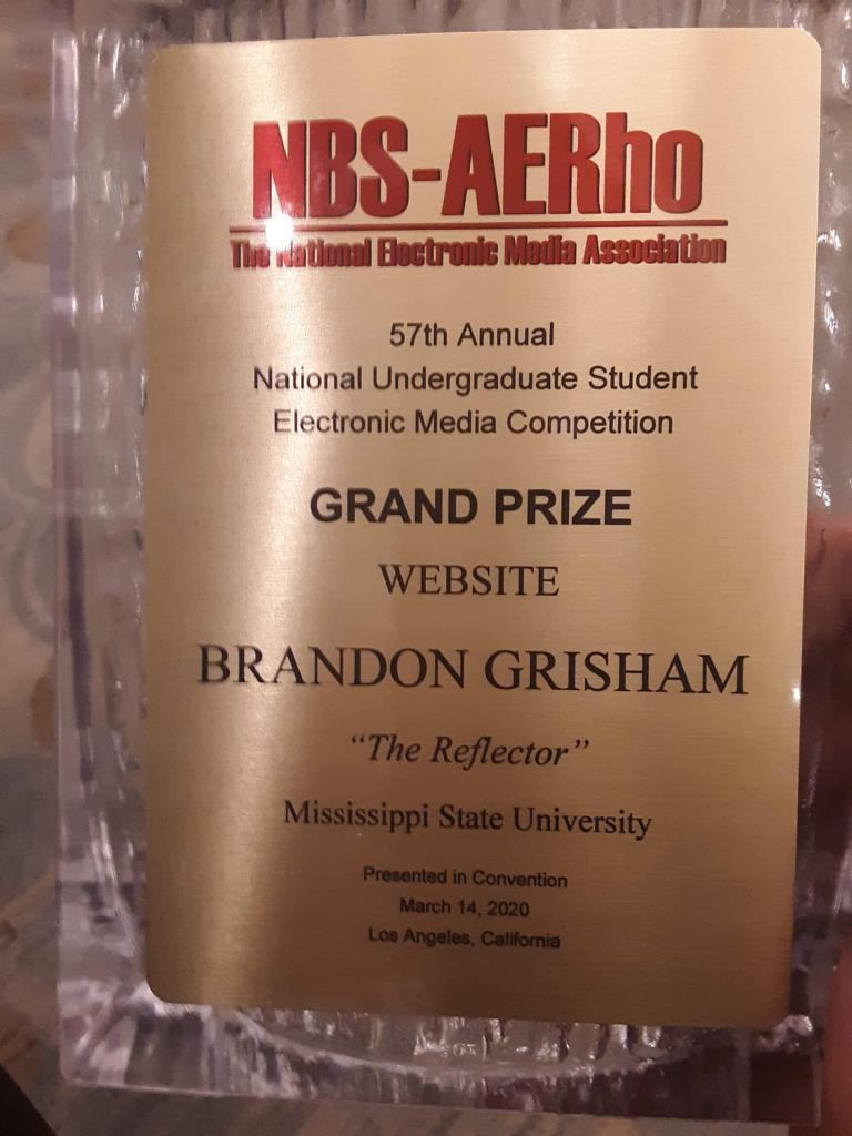 NBS-AERho award - 2020 Website Brandon Grisham