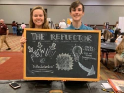 Reflector Staff - 2018 - Brandon Grisham